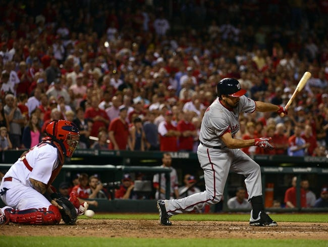 St. Louis Cardinals vs. Washington Nationals MLB Pick, Odds, Prediction 6/14/14