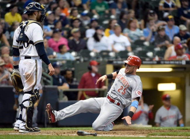 Cincinnati Reds vs. Milwaukee Brewers Pick-Odds-Prediction - 7/4/14