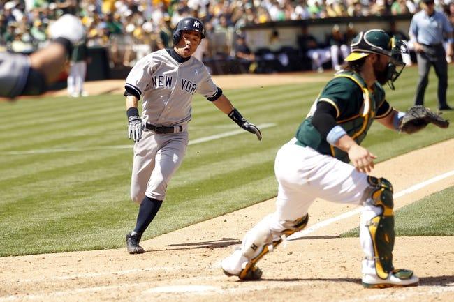 MLB | New York Yankees (24-22) at Oakland Athletics (17-31)