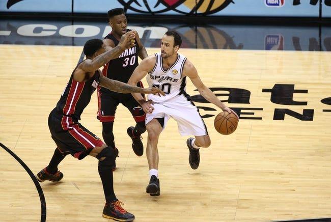 San Antonio Spurs vs. Miami Heat 10/18/14 NBA Preseason Pick, Odds, Prediction