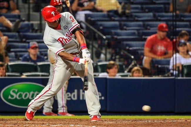 Atlanta Braves vs. Philadelphia Phillies MLB Pick, Odds, Prediction - 6/17/14