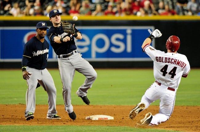 Arizona Diamondbacks vs. Milwaukee Brewers MLB Pick, Odds, Prediction 6/17/14