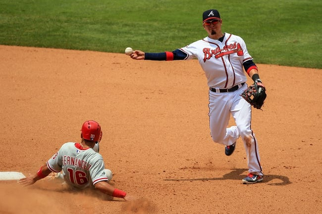 Philadelphia Phillies vs. Atlanta Braves MLB Pick, Odds, Prediction - 6/28/14 Game One