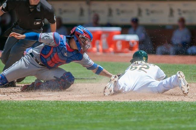 Texas Rangers vs. Oakland Athletics MLB Pick, Odds, Prediction 7/25/14