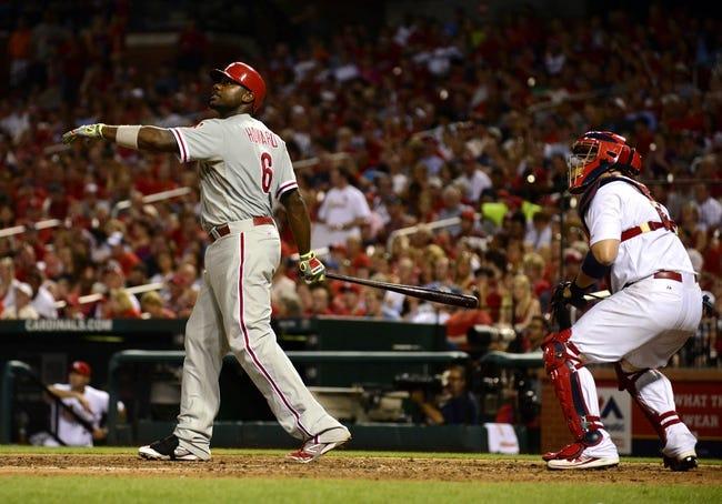 St. Louis Cardinals vs. Philadelphia Phillies MLB Pick, Odds, Prediction 6/20/14
