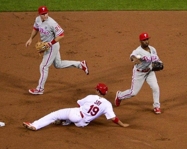St. Louis Cardinals vs. Philadelphia Phillies MLB Pick, Odds, Prediction - 6/21/14