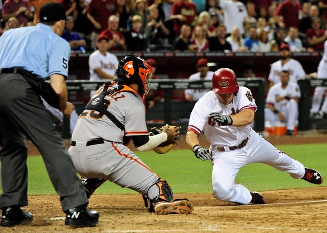 Arizona Diamondbacks vs. San Francisco Giants MLB Pick, Odds, Prediction 6/21/14