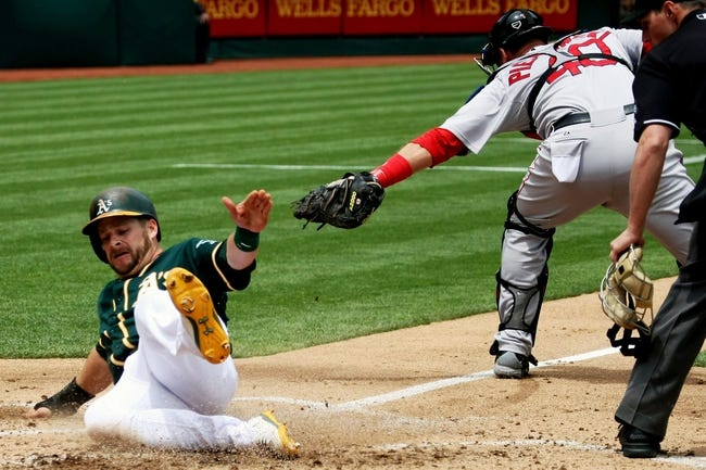 Oakland Athletics vs. Boston Red Sox MLB Pick, Odds, Prediction - 6/22/14