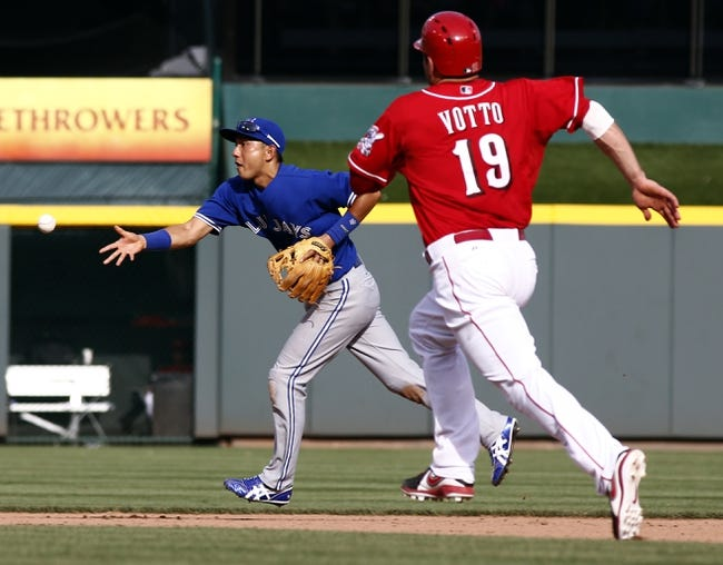 Cincinnati Reds vs. Toronto Blue Jays Pick-Odds-Prediction - 6/22/14