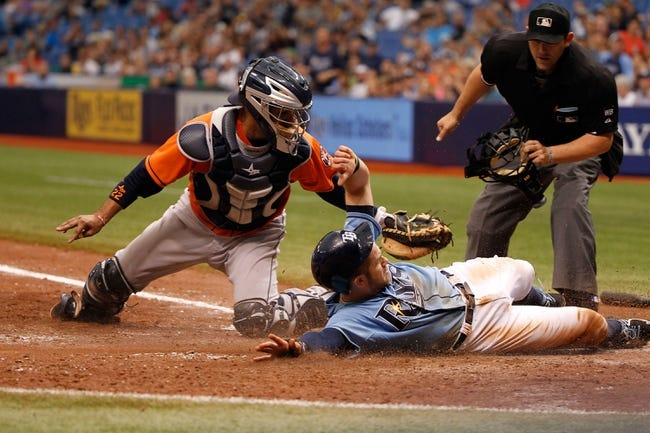 Tampa Bay Rays vs. Houston Astros - 7/10/15 MLB Pick, Odds, and Prediction