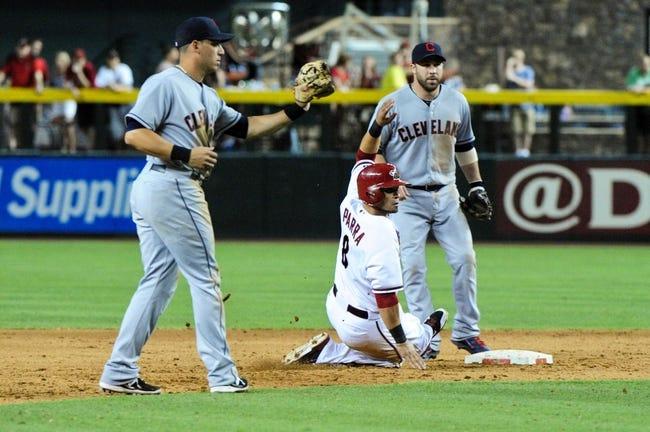 Arizona Diamondbacks at Cleveland Indians MLB Pick, Odds, Prediction - 8/12/14