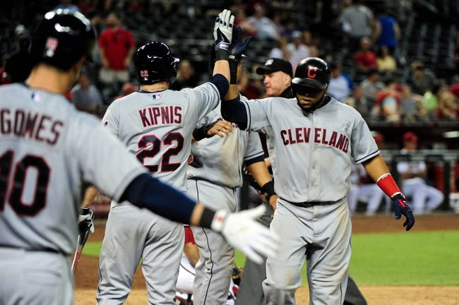 MLB | Arizona Diamondbacks (51-67) at Cleveland Indians (59-59)