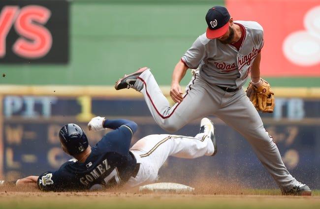 Washington Nationals vs. Milwaukee Brewers MLB Pick, Odds, Prediction - 7/18/14