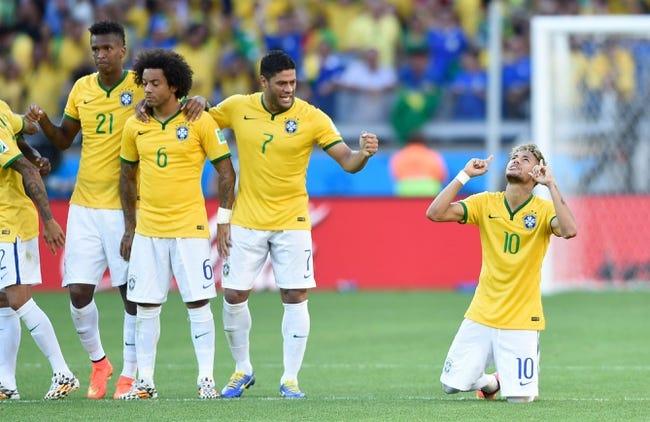 2014 FIFA World Cup: Brazil vs Colombia Pick, Odds, Prediction - 7/4/14