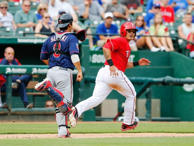 Texas Rangers vs. Minnesota Twins Pick-Odds-Prediction - 6/29/14