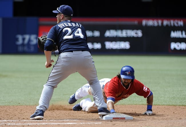 Toronto Blue Jays vs. Milwaukee Brewers Pick-Odds-Prediction - 7/2/14