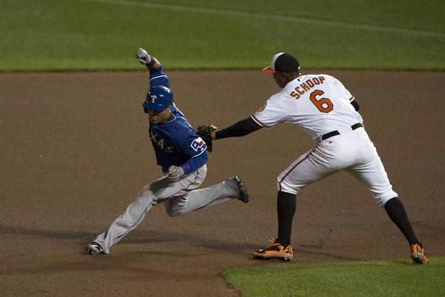 Baltimore Orioles vs. Texas Rangers MLB Pick, Odds, Prediction - 7/3/14