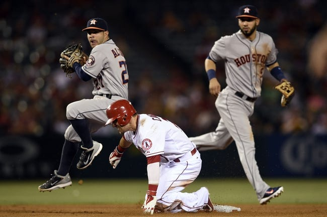 Los Angeles Angels vs. Houston Astros MLB Pick, Odds, Prediction 7/4/14