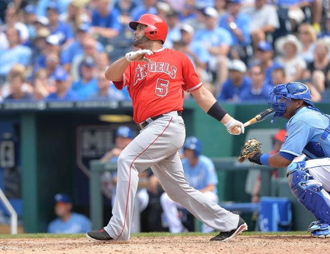 Los Angeles Angels vs. Kansas City Royals - 10/2/14 ALDS Game One