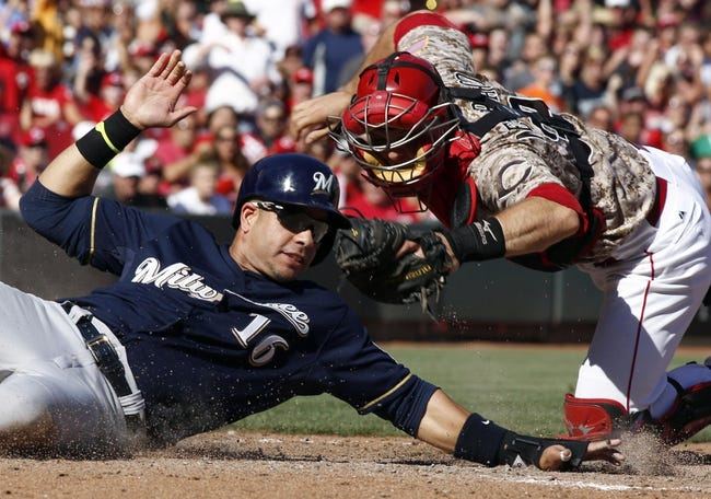 Cincinnati Reds vs. Milwaukee Brewers MLB Pick, Odds, Prediction 7/6/14