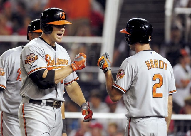 Washington Nationals vs. Baltimore Orioles MLB Pick-odds-Prediction - 7/8/14