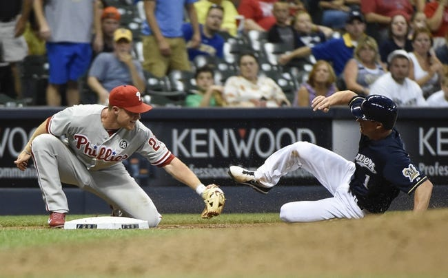 Milwaukee Brewers vs. Philadelphia Phillies MLB Pick, Odds, Prediction - 7/8/14