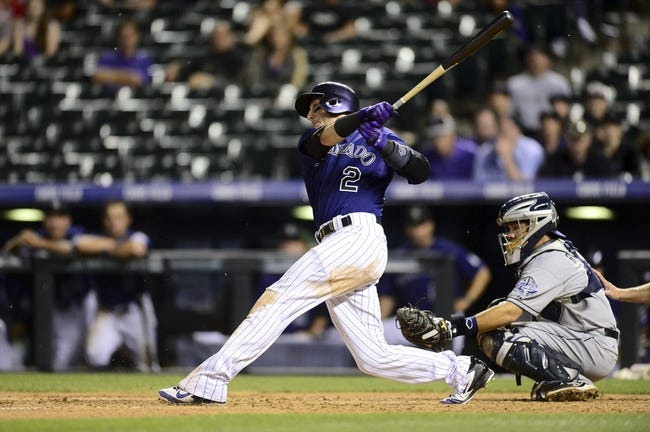 Colorado Rockies vs. San Diego Padres MLB Pick, Odds, Prediction - 7/9/14