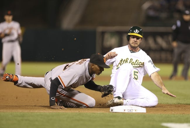 Oakland Athletics vs. San Francisco Giants MLB Pick, Odds, Prediction 7/8/14
