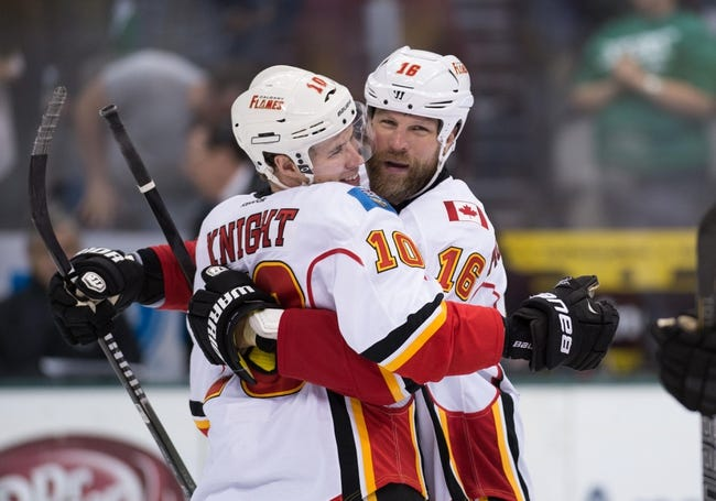 Calgary Flames vs. Dallas Stars - 12/19/14 NHL Pick, Odds, and Prediction