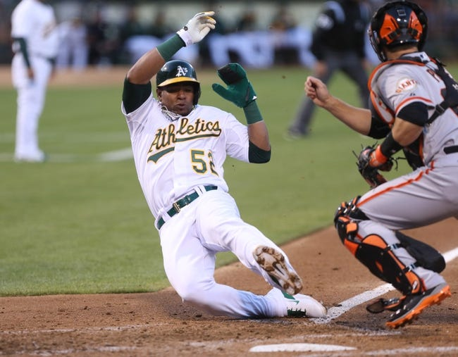 San Francisco Giants vs. Oakland Athletics MLB Pick, Odds, Prediction - 7/9/14
