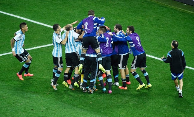 2014 FIFA World Cup: Argentina vs. Germany Pick, Odds, Prediction - 7/13/14