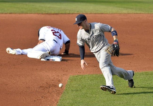 Cleveland Indians vs. New York Yankees MLB Pick, Odds, Prediction - 7/10/14