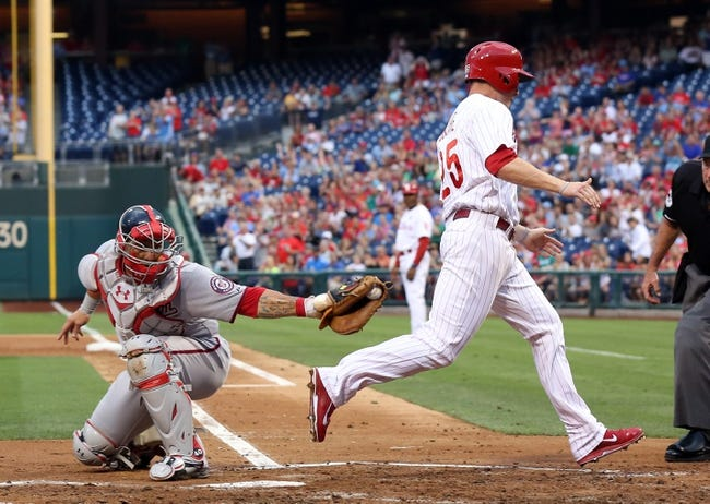 Philadelphia Phillies vs. Washington Nationals MLB Pick, Odds, Prediction 7/12/14