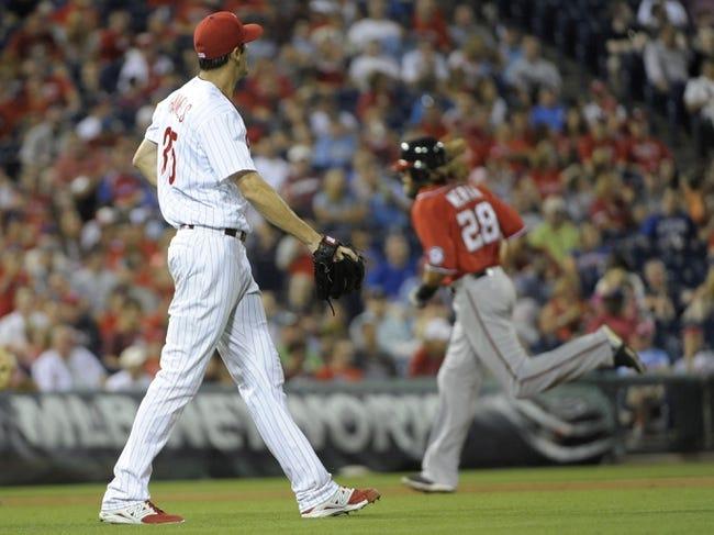 Philadelphia Phillies vs. Washington Nationals MLB Pick, Odds, Prediction 7/13/14