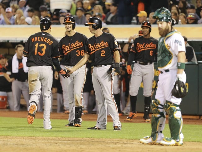 Oakland Athletics vs. Baltimore Orioles Pick-Odds-Prediction - 7/19/14