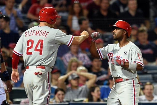 Atlanta Braves vs. Philadelphia Phillies MLB Pick, Odds, Prediction - 7/20/14