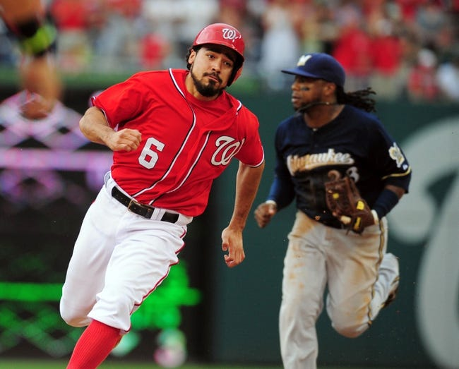 Brewers vs. Nationals - 6/11/15 MLB Pick, Odds, and Prediction
