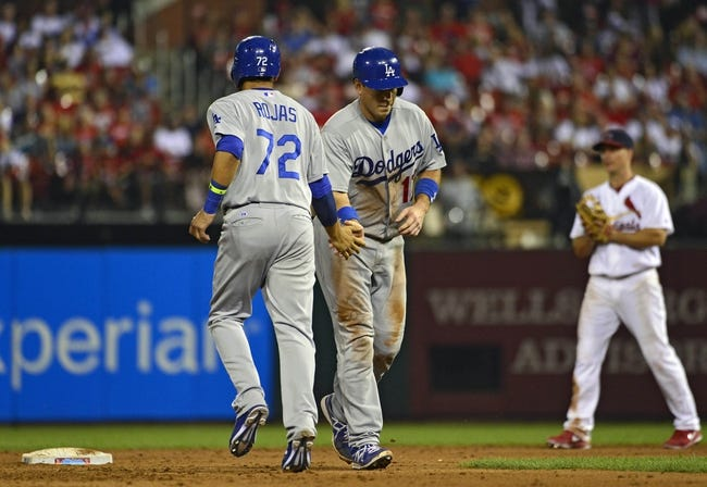 St. Louis Cardinals at Los Angeles Dodgers - 10/3/14 2014 NLDS Free Pick, Odds, Prediction
