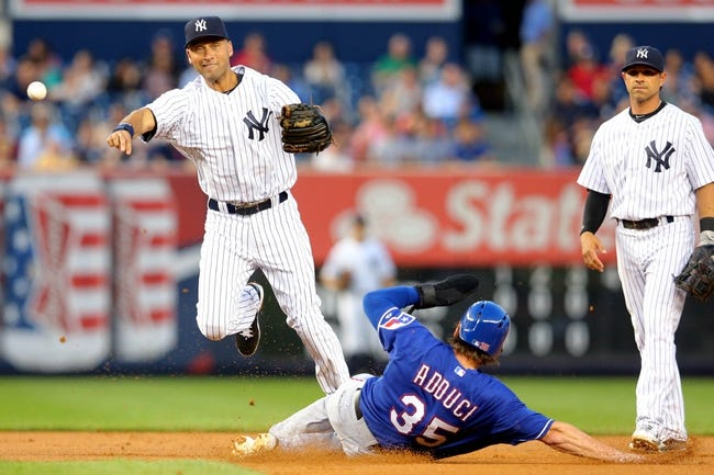 New York Yankees vs. Texas Rangers MLB Pick, Odds, Prediction 7/23/14