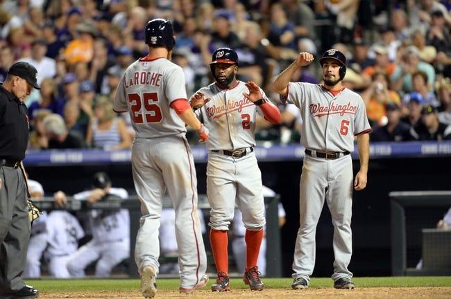 Colorado Rockies vs. Washington Nationals MLB Pick-Odds-Prediction - 7/23/14