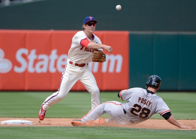 Philadelphia Phillies at San Francisco Giants MLB Pick, Odds, Prediction - 8/15/14