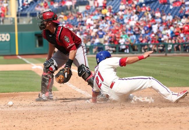 Diamondbacks at Phillies - 5/15/15 MLB Pick, Odds, and Prediction