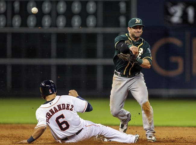 Houston Astros vs. Oakland Athletics MLB Pick, Odds, Prediction - 8/25/14