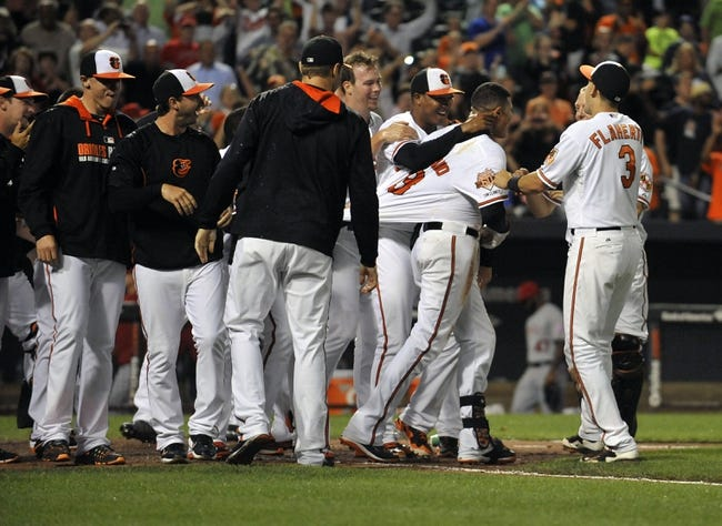 Baltimore Orioles vs. Los Angeles Angels MLB Pick, Odds, and Prediction  7/30/14