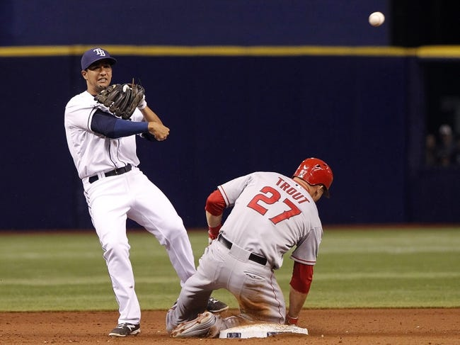 MLB | Los Angeles Angels (65-43) at Tampa Bay Rays (53-56)
