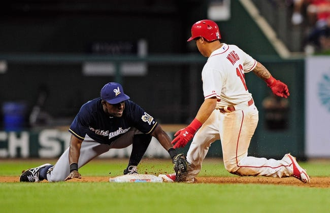 St. Louis Cardinals vs. Milwaukee Brewers 8/3/14 MLB Pick, Odds, Prediction