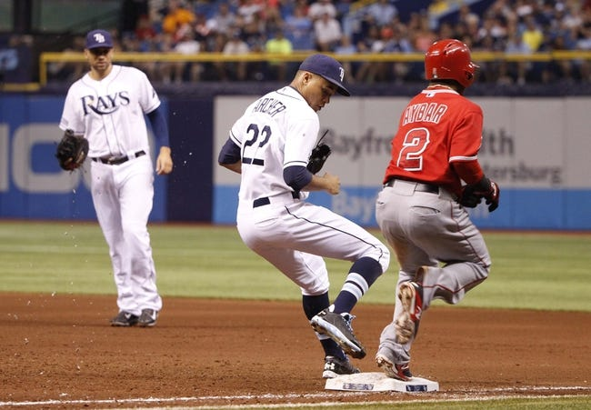 Tampa Bay Rays vs. Los Angeles Angels MLB Pick, Odds, Prediction - 8/3/14