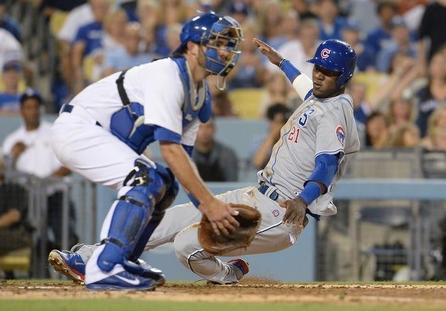 Los Angeles Dodgers vs. Chicago Cubs MLB Pick, Odds, Prediction - 8/3/14