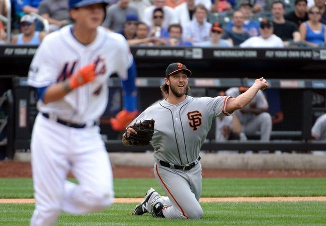 San Francisco Giants at New York Mets MLB Pick, Odds, Prediction - 8/4/14