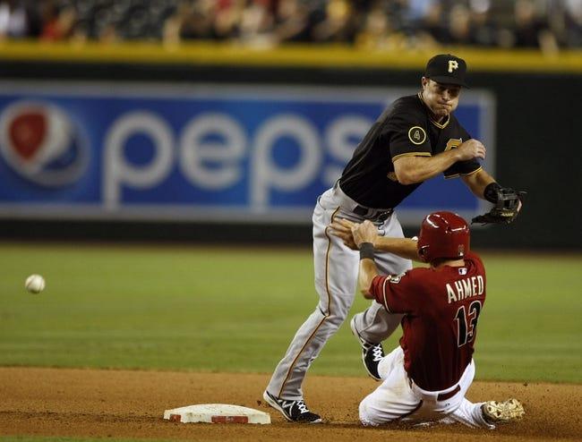 Diamondbacks vs. Pirates - 4/24/15 MLB Pick, Odds, and Prediction